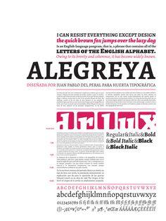 especimen tipografico - Buscar con Google