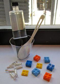 DIY Lego Cuff links