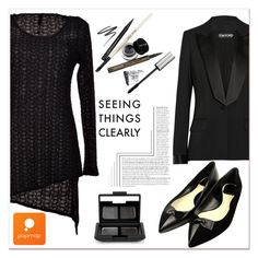 """""""Popmap 14"""" by black-fashion83 ❤ liked on Polyvore featuring Tom Ford, Christian Dior, NARS Cosmetics, women's clothing, women, female, woman, misses, juniors and popmap"""