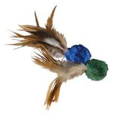 KONG Naturals Crinkle Ball with Feathers Cat Toy 2 pieces ** See this great product. (This is an affiliate link and I receive a commission for the sales)