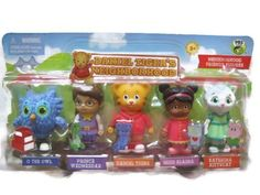 Daniel Tiger`s Neighborhood Friends- would be good for cake decoration.
