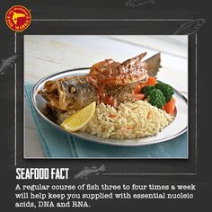 Want to eat #healthy and still enjoy all the #delicious #food that you crave? Come over to The  Manhattan Fish Market now! #Seafood #Fact