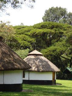 African huts in Kenya (taken by Sarah Croaker)