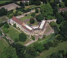Aerial Shot of #Eltham Palace & Gardens, London - Wedding Venue Hire | English Heritage