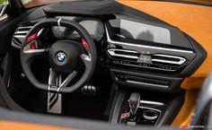 2017 BMW 'Concept Z4' Suv Bmw, Bmw Z4 Roadster, Car Interior Design, Interior Concept, Bmw Concept, 2017 Bmw, Pebble Beach Concours, Rear Wheel Drive, Hot Cars