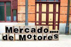 Mercado de Motores.... mercadillo con glamour. Madrid.