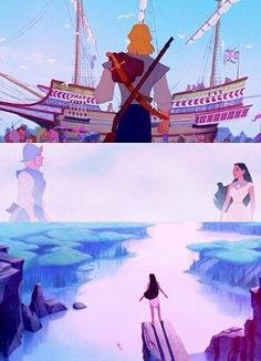 Pocahontas and John Smith-where their journeys begin and intersect. He begins in London, off to a New World, where he will encounter amazing things...little does he know one of them is a woman. She begins in a naturally grown world, surrounded by animals and nature. She loves to...discover. Their paths meet as they both search for discovery, intrigued by what they may find. And forever changed by the outcome.