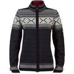 Dale of Norway Valle Sweater ($318) ❤ liked on Polyvore featuring tops, sweaters, holiday sweaters, cocktail tops, print sweater, fleece lined sweater et evening sweaters