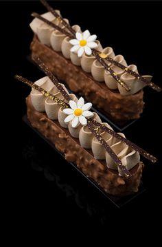 ideas chocolate desserts plated patisserie for 2019 Elegant Desserts, Fancy Desserts, Beautiful Desserts, Gourmet Desserts, Plated Desserts, Delicious Desserts, Dessert Recipes, Fancy Chocolate Desserts, Chocolate Eclairs