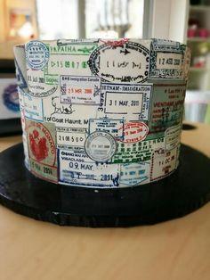 passport cake - Google Search                                                                                                                                                                                 More