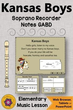 Looking for a recorder song and an elementary music lesson! This is perfect for your music lesson plans working with with soprano recorders and GABD notes! Your students will LOVE these interactive visuals! Music Classroom, Music Teachers, Music Education Activities, Elementary Music Lessons, Music Lesson Plans, Recorder Music, Teaching Music, Students, Notes