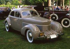 1936 Cord 810 Westchester 4 door | Flickr - Photo Sharing!