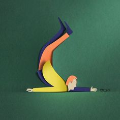New Paper Cut Illustration Eiko Ojala 3 Art And Illustration, 3d Illustrations, 3d Paper Art, Paper Artwork, Paper Crafts, Foam Crafts, Paper Cutting, Cut Paper, Papercut Art