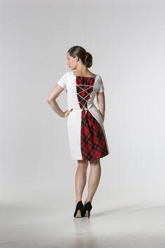 The @ renatekriegler Tartan Panel Dress http://spencerclothing.com