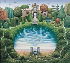 The Secret Garden - Jacek Yerka