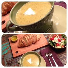 Potato, Broccoli and Cheese Soup Recipe Crockpot Recipes, Soup Recipes, Dinner Recipes, Cooking Recipes, Healthy Soups, Healthy Eating, Catching Fireflies, Broccoli And Cheese, Cheese Soup