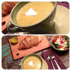 potato broccoli cheese soup recipe
