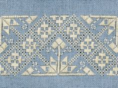 2 - A fili contati (Counted Thread Work) Motifs Bargello, Bargello Patterns, Tambour Embroidery, Hardanger Embroidery, Drawn Thread, Thread Work, Embroidery Patterns Free, Embroidery Stitches, Blackwork