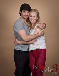 The Vampire Diaries Cast Bloody Night Con Portraits llll – Vampire Diaries Guide