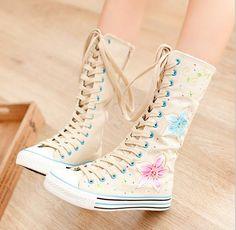 Love cute girls-Flat Boots