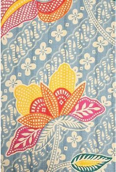 Batik--happy colors