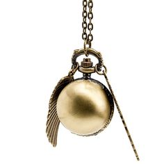 Quantity: 1 piece pocket watch + 1 piece 60cm chain   It is a real watch.It shows the time. And it is able to change the battery when the battery expire.   Watch Size: 55*30 mm   Chain size:...