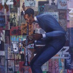 House of Art Gallery presents Frank Morrison: Graffiti, an exhibit . African American Art, American Artists, African Art, Victor Hugo, Illustrations, Illustration Art, Frank Morrison Art, Francis Wolff, Jazz Art
