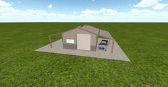 Dream #steelbuilding built using the #MuellerInc web-based 3D #design tool http://ift.tt/1IAI4Qs