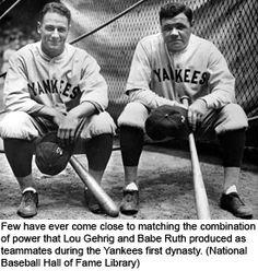 :) Baseball has so much history