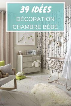 Décoration chambre bébé : 39 idées à découvrir ! http://www.homelisty.com/decoration-chambre-bebe/