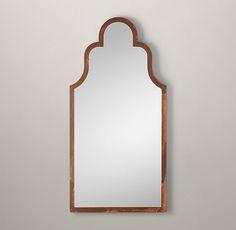 "Dutch Baroque Leaner Mirror - Rust 39""W x 79""H JARDIN- salle de bain 40200208 RUST"