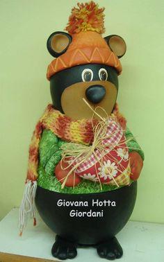 Winter Bear Gourd
