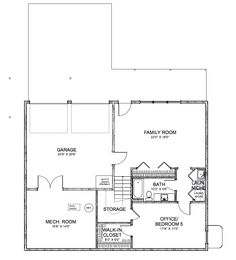 Elegant The Sifton   Basement Floor Plan Design Ideas