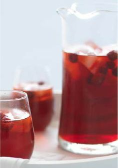 Sparkling Raspberry-Cranberry Punch – Here's a celebration punch for you. Fruity drink mix and seltzer, cranberry juice and raspberries make for one beautiful pitcher of berryliciousness.