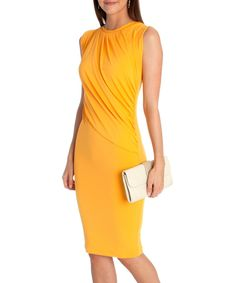 This CeMe London Yellow Fifi Dress by CeMe London is perfect! #zulilyfinds