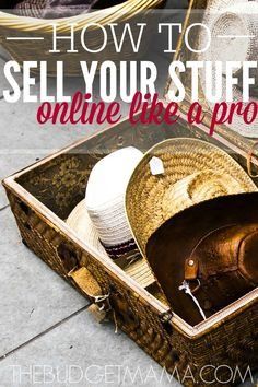 How to Sell Your Stuff Online Like a Pro - If you need to add more money in your pocket, selling off those unwanted items can make it easier to stretch your budget. How to sell your stuff online is super easy with these helpful tips. Make Money From Home, Way To Make Money, Make Money Online, Sell Stuff Online, Money Today, Money Fast, Konmari, Money Tips, Money Saving Tips