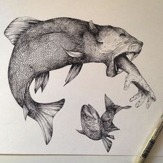 Exquisite Drawings by Alfred Basha