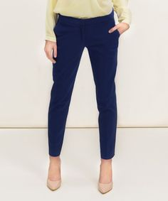 Look what I found on #zulily! Navy Blue Straight-Leg Pants by MISEBLA #zulilyfinds