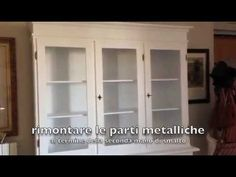 come laccare un mobile in casa - YouTube
