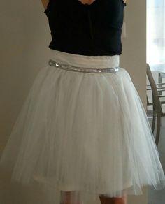 Mariage : Jupe en tulle ceinture sequins : Jupe par my-arabesque