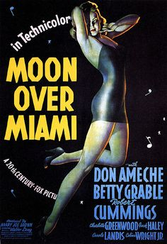 Moon Over #Miami 1941 betty #grable