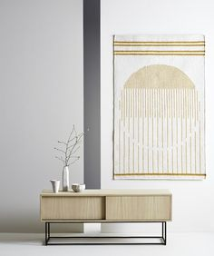 Virka is an elegant and timeless sideboard. With clean lines and a simple expression, the Virka sideboard can be a part of a consistent design language or be a standalone object. Low Sideboard, Sideboard Furniture, Home Living, Living Room, Objet Deco Design, Buffet Design, Rooms To Let, Plant Table, Tapis Design