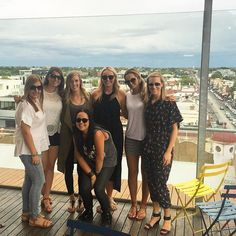 Rooftop Birthday Drinks with these Babes ❤️❤️❤️ #Melbourne @emiiillyb @artyploutos @apateras @sammyvass