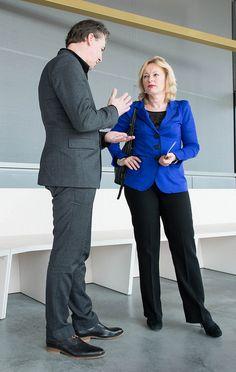 Minister Jet Bussemaker en directeur Errol van de Werdt by Wout Touw, via Flickr