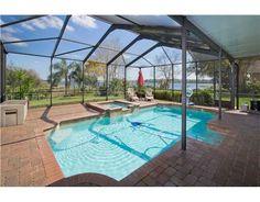 Custom Winter Haven Pool Home on Lake Mariam. $298,000. 316 Hernando.