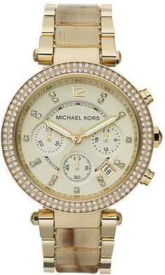 My new arm candy! just got this watch and love it soooo much! soo timeless!! Michael Kors Watch