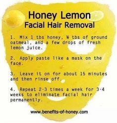 Permanent Facial Hair Removal, use doTERRA Lemon Essential Oil
