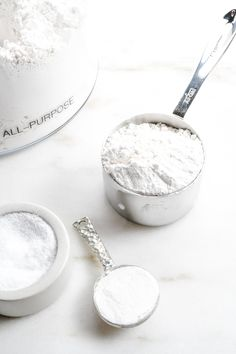 Self-rising flour is a staple ingredient in so many southern recipes! Learn how to make your own self-rising flour with this quick and easy substitution recipe. All you need are 3 simple ingredients! // addapinch.com Self Rising Flour Substitute, Make Self Rising Flour, Baking Tips, Bread Baking, Baking Recipes, Baking Secrets, Baking Ideas, Fun Desserts, Dessert Recipes