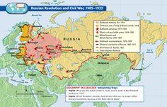 23 Best Russian Revolution Maps Charts Etc Images Maps
