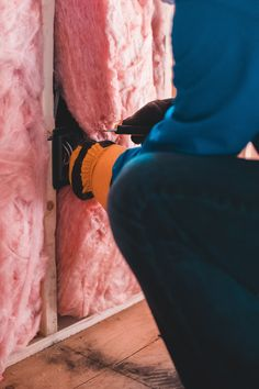 """People tend to think about home insulation as a heat trapper in winter. But a well-insulated home keeps heat out in summer as well as it keeps heat in during winter. And older Bay Area homes can usually use a """"recharge"""" on their wall and attic insulation to keep PG&E bills down! #homeinsulationtips #HomeInsulationSpecialists #ElementHomeSolutions Home Insulation, Insulation Materials, Wearing A Hat, Home Comforts, Bay Area, Cool Suits, Attic, Homes"""